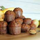 Muffiny dyniowe z jablkiem